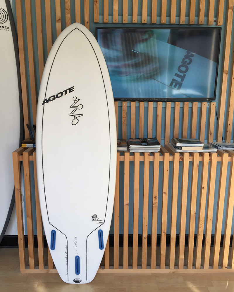 Mikel Agote Surfboards Patata Deluxe