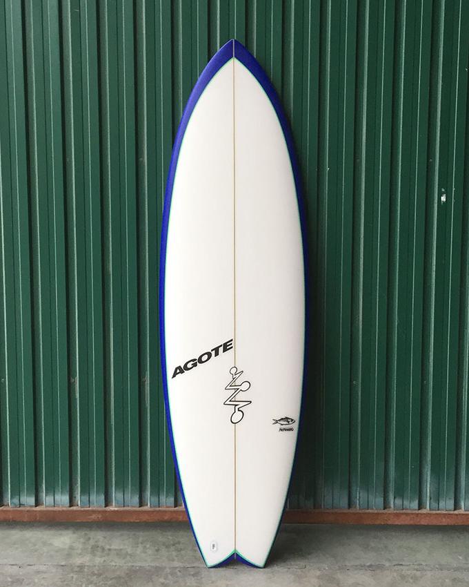 Mikel Agote Surfboards Txitxarro
