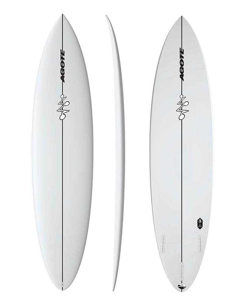 Mikel Agote Surfboards Semi-Gun Bazooka Big Waves