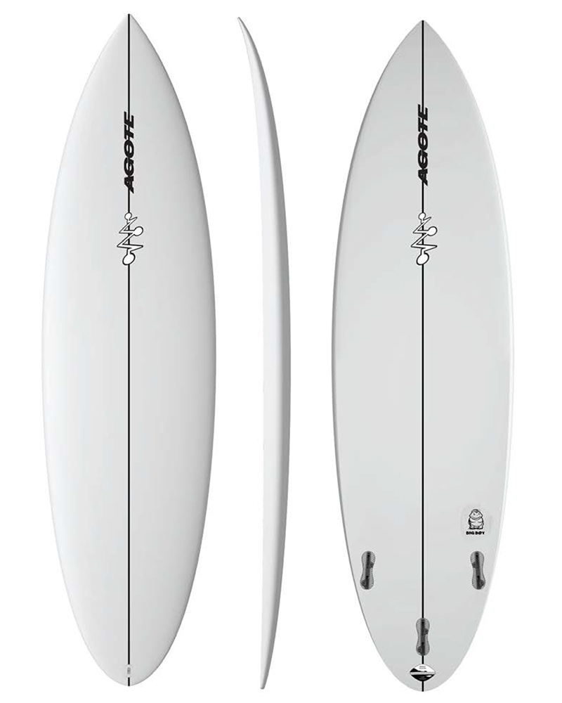 Mikel Agote Surfboards Big Boy