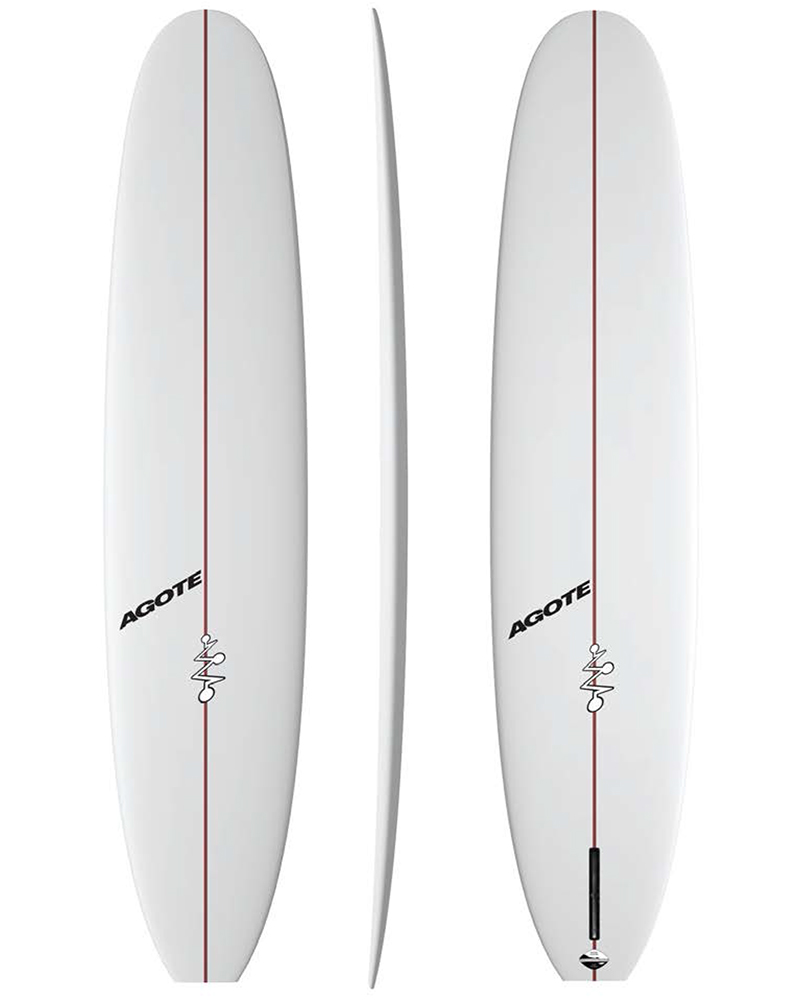 Agote Surfboards Longboard Classic Single Fin