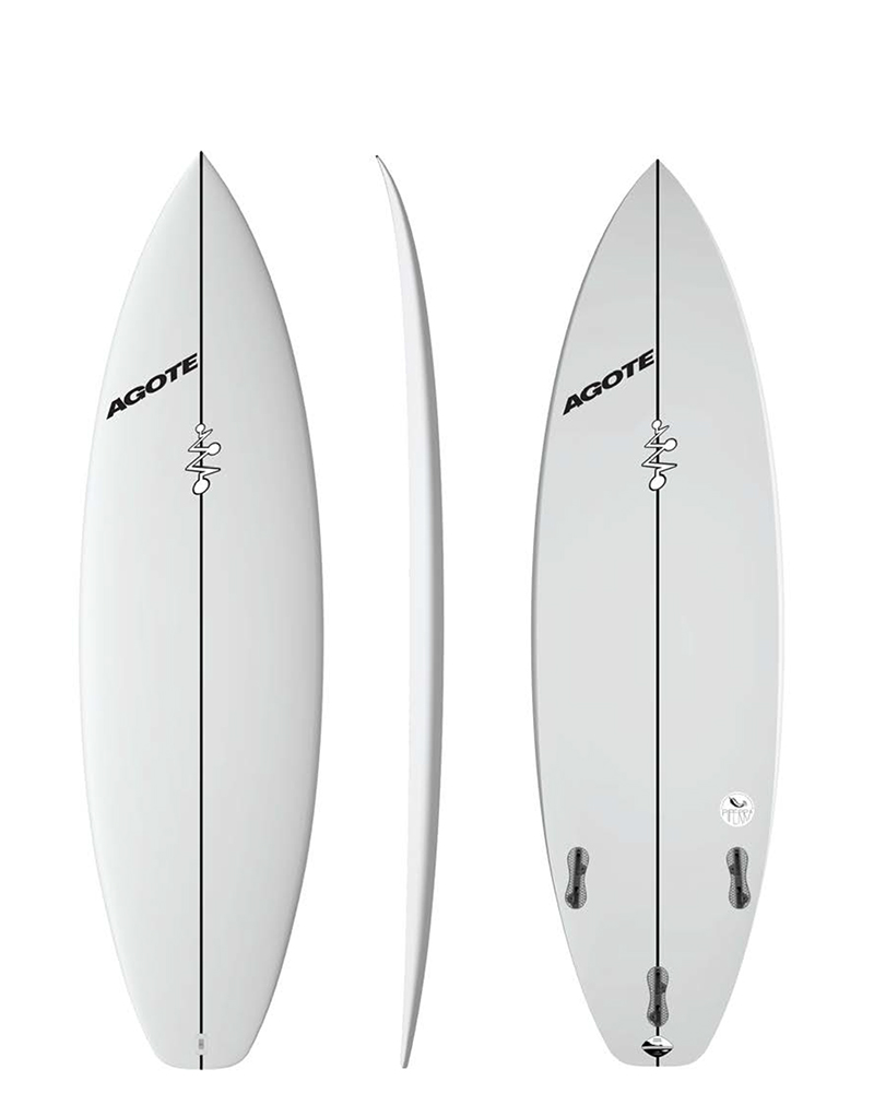 Mikel Agote Surfboards Piperra