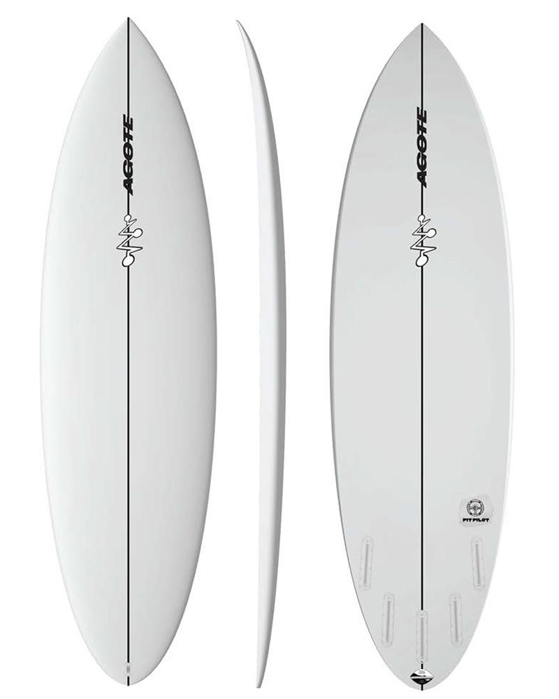 Mikel Agote Surfboards Pit Pilot