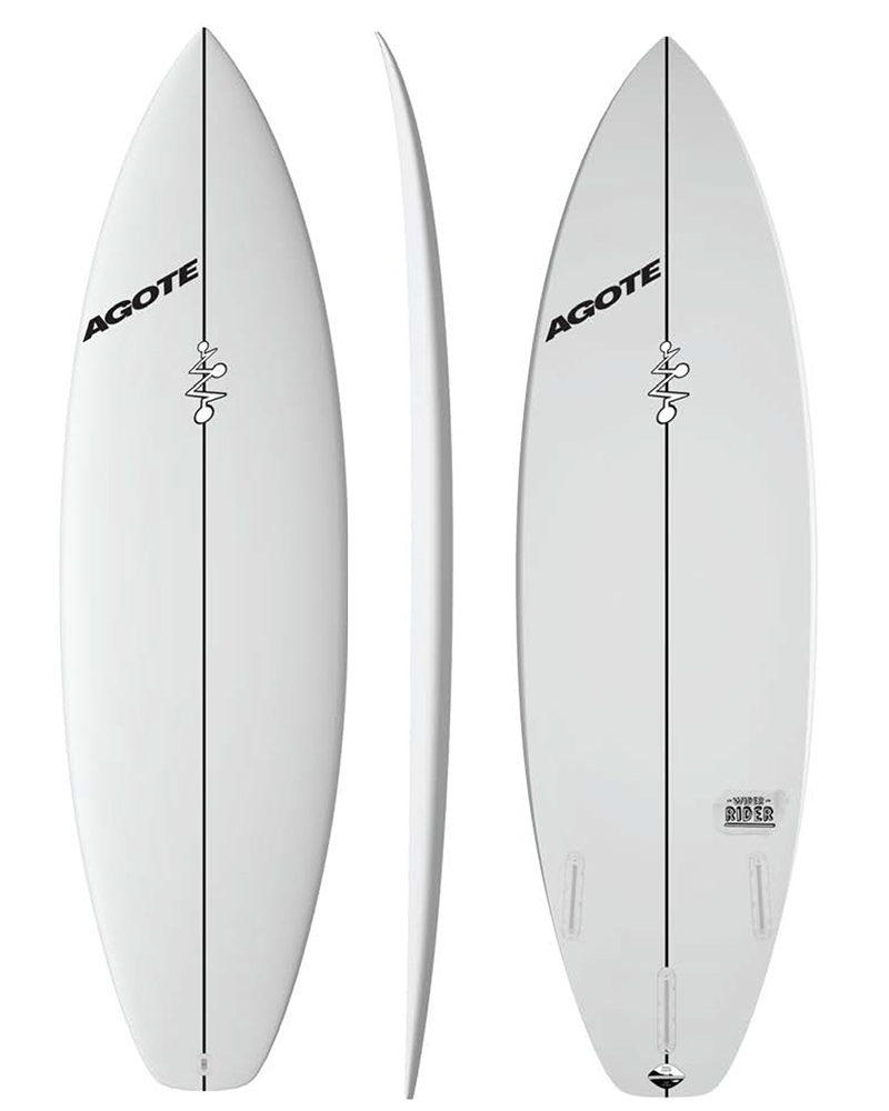 Mikel Agote Surfboards Wider Rider